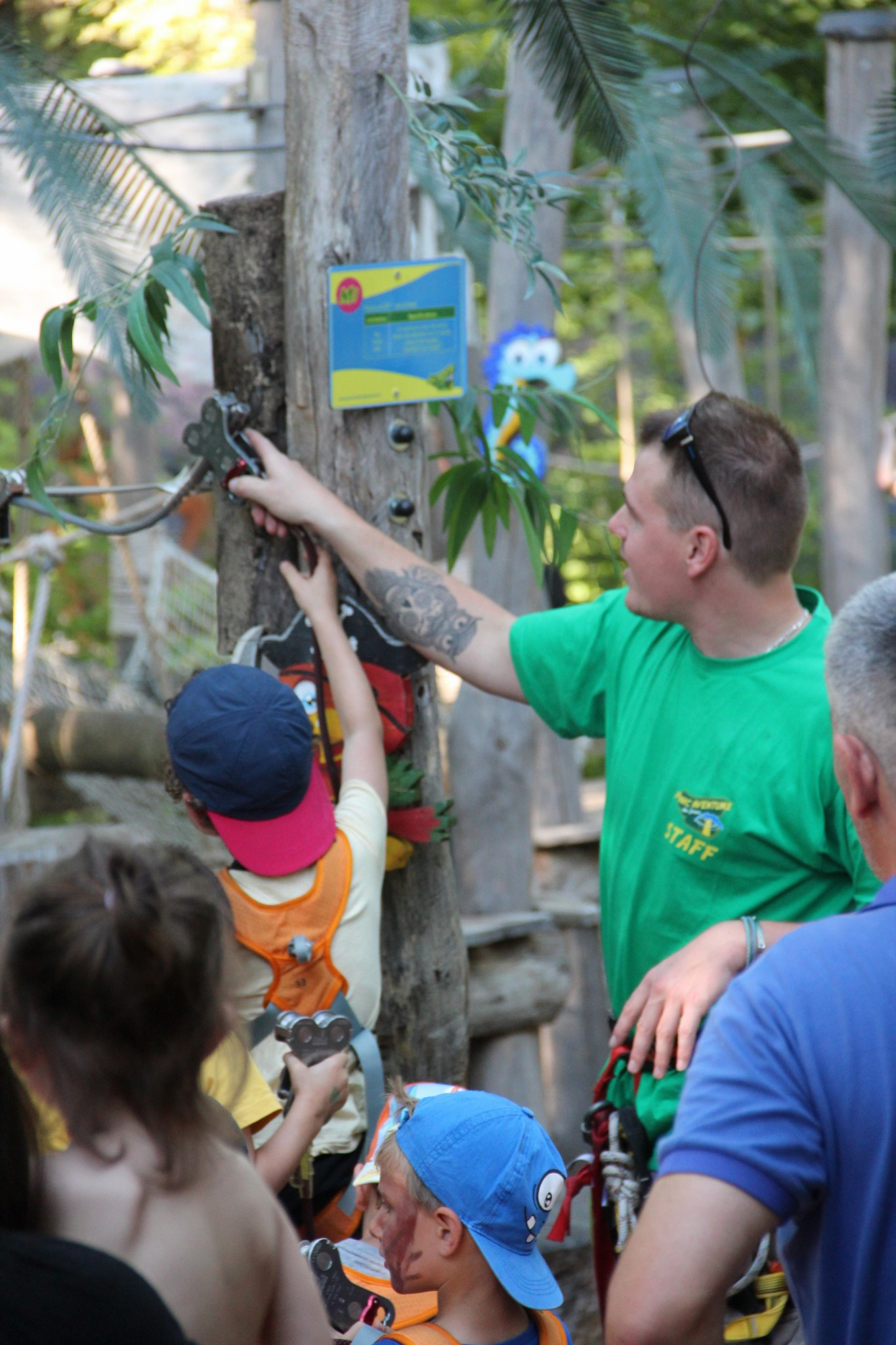 Birthday parties - The little adventurers Treetop Adventure Park of Geneva