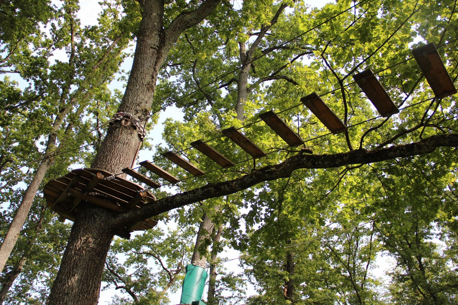 parc aventure genève - accrobranche genève