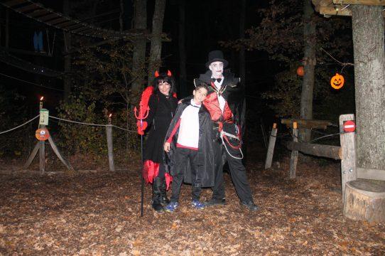 Soirées Halloween : Accrobranche nocturne